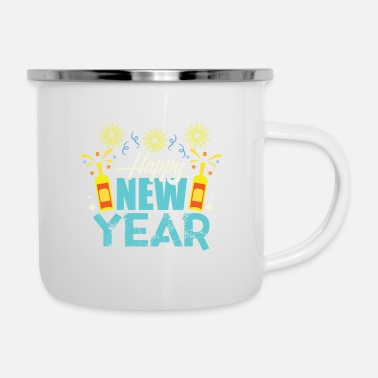 New Years Newyear - Enamel Mug