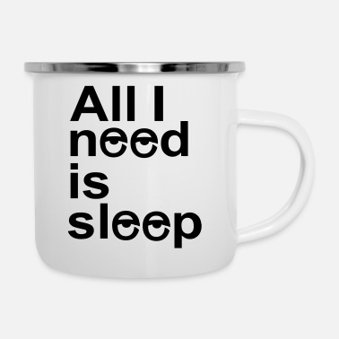 Sleep In sleep - Enamel Mug