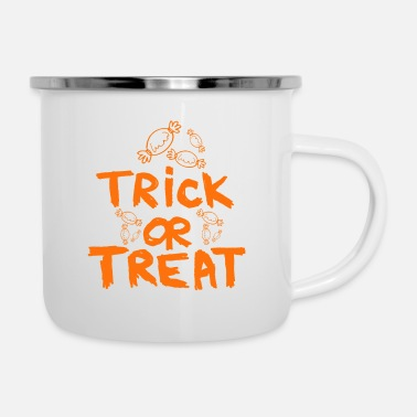 Trick Or Treat Trick or Treat - Enamel Mug