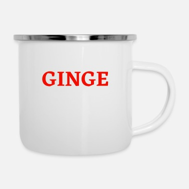 Red GINGE Red Head - Enamel Mug