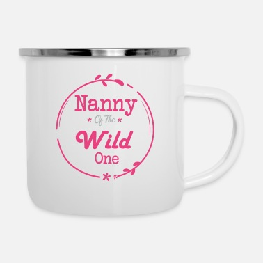 Wild Horse nanny of the Wild One - Enamel Mug