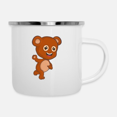 Teddy Bear Bear Teddy Bear - Enamel Mug