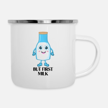 Milk Milk Breast Milk - Enamel Mug