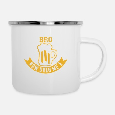 Beer Cool story bro now grab me a beer - Enamel Mug