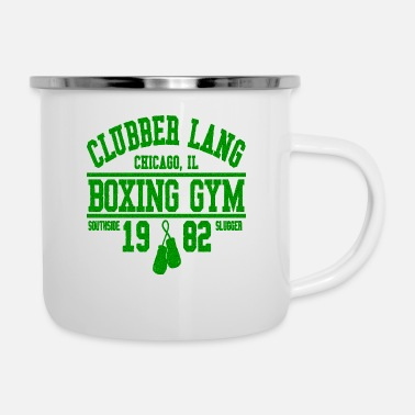 Clubbers CLUBBER LANG BOXING GYM - Enamel Mug