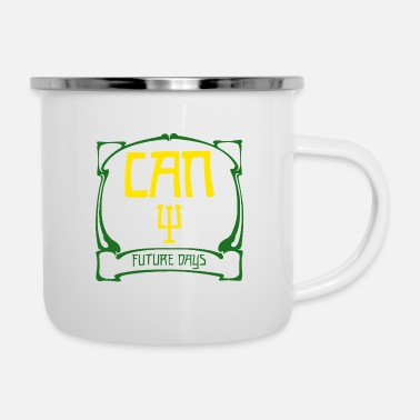Can Band Logo - Enamel Mug