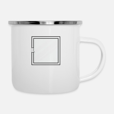 Windows Window - Enamel Mug