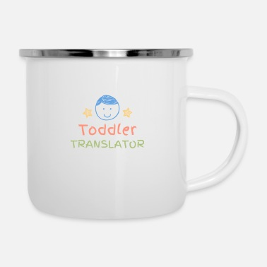 Toddler Translator - Enamel Mug