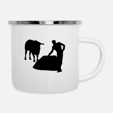Bullfighting Bull Bullfight Bullfighter Torero Spain - Enamel Mug