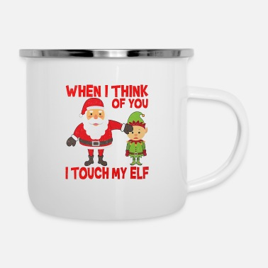 Christmas Is Coming - Enamel Mug