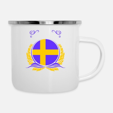 Sweden This Is Sweden - Enamel Mug