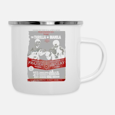 The Thrilla in Manila - FRAZIER VS ALI - Enamel Mug