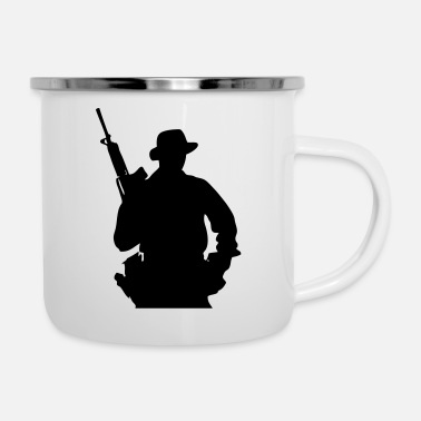 Grenadier Army Ranger, Soldier, Mercenary - Enamel Mug