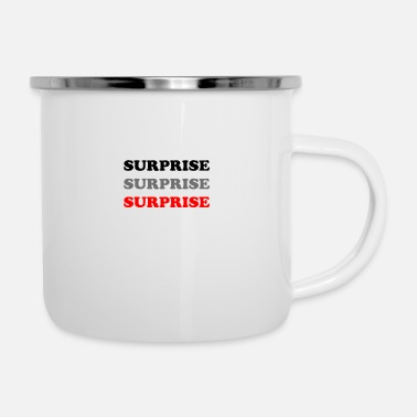 Surprise Gift - Enamel Mug