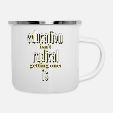 Education-culture education - Enamel Mug