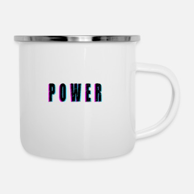 Power Power - Enamel Mug