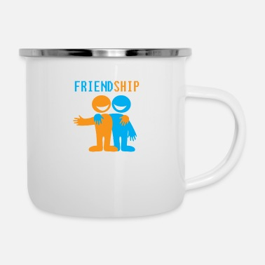 Friendship FRIENDSHIP - Enamel Mug