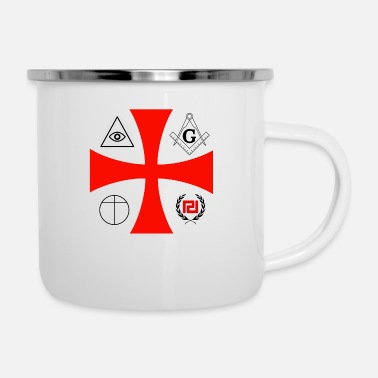 Secret Society secret societies - Enamel Mug