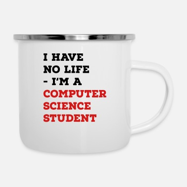 Computer Science computer science student - Enamel Mug
