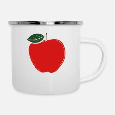 Logo apple-logo - Enamel Mug