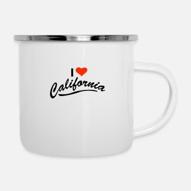 I Love California I Love California - Enamel Mug