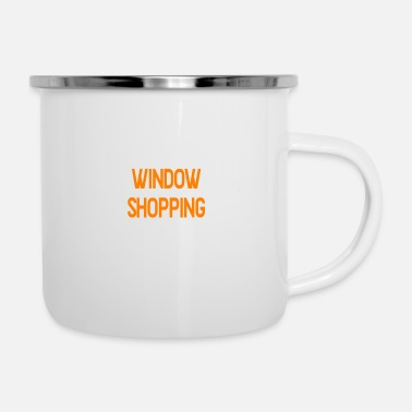 Windows Window shopping - Enamel Mug