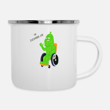 cucumber joe - Enamel Mug