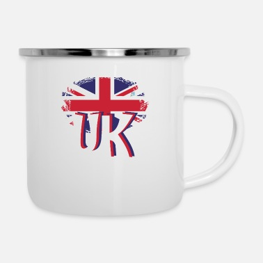 Uk UK 2 - Enamel Mug