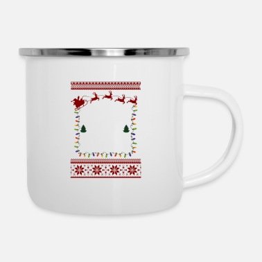 Epstein Didn T Kill Epstein Didn t Kill Himself Christmas - Enamel Mug