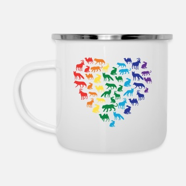 Animal Love Animal Love - Enamel Mug