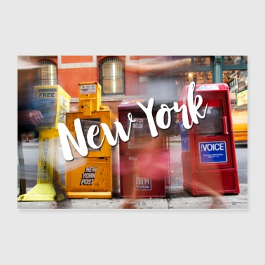 New York Run - Poster 36x24