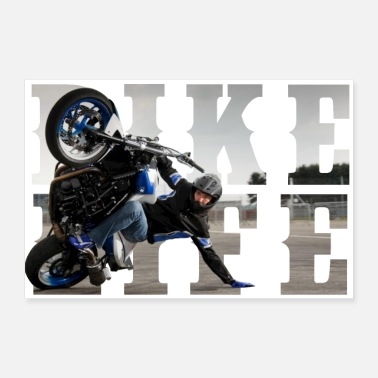 Deluxe bikelife phototext - Poster