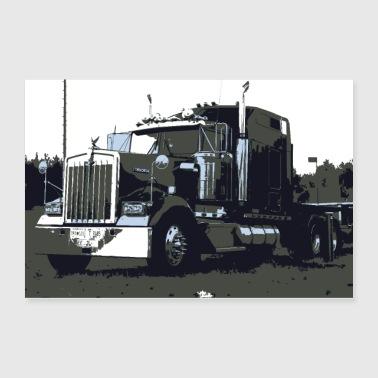 Shop Truck Wall Art online | Spreadshirt