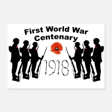 War First World War Centenary - Poster