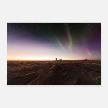 South South Pole Sunrise - Poster