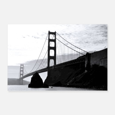 Golden Gate Golden Gate Bridge - Poster