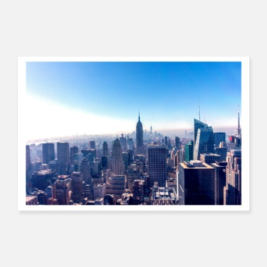 Building New york - Empire State Building - Poster