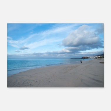 Scene Chilly beach scene - Poster 36x24