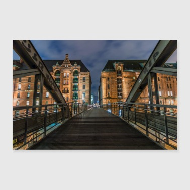 City Bridge - Poster 36x24