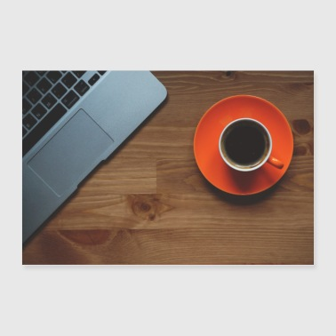Coffee & Computer - Poster 36x24