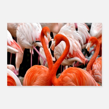 Loves Flamingo Love - Poster