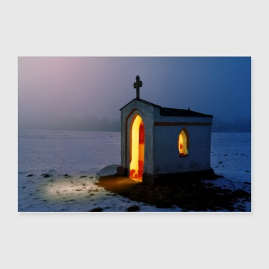 Small Church - Poster 36x24