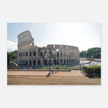 Italy Colosseum Rome Italy - Poster