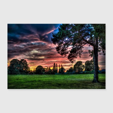 Weather Sunset - Poster 36x24
