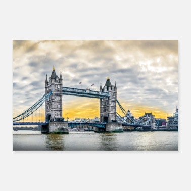 Since Tower Bridge at daybreak. - Poster 36x24