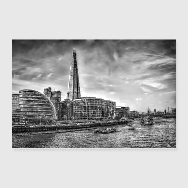 The Shard Building London - Poster 36x24