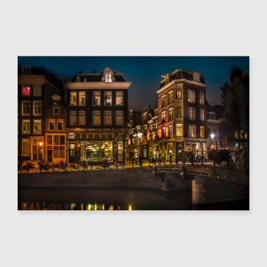Amsterdam at Midnight - Poster 36x24