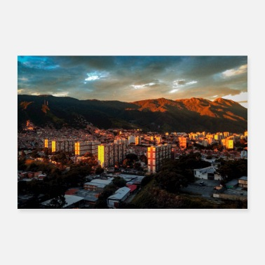 Lilac Caracas Valley Poster - Poster