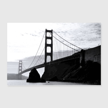 Golden Gate Bridge - Poster 36x24