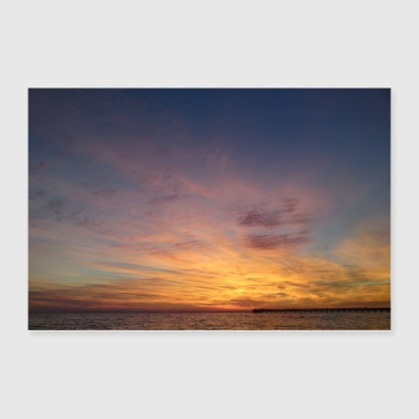 Another amazing sundown - Poster 36x24